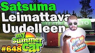 My Summer Car 648  Satsuma Leimattava Uudelleen  Ralli Torstaina?