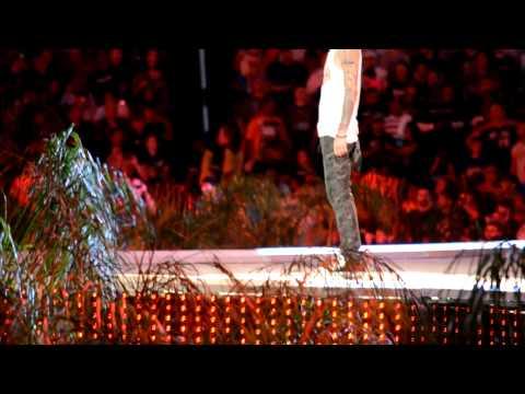 Machine Gun Kelly Wrestlemania 28 Performance