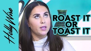 "Claudia Oshry ""Girl With No Job"" Fan Girls For Taylor Swift & Plays ROAST IT OR TOAST IT 
