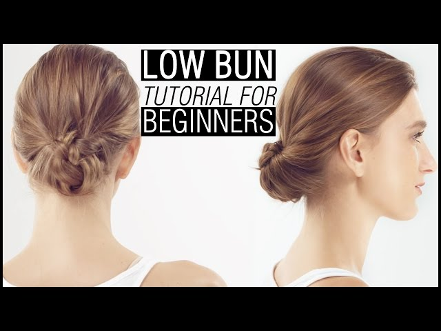 How To Do The Perfect Low Bun A Step By Step Tutorial