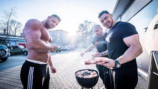 Bodybuilder grillen an! | Grillfleisch für Alle!