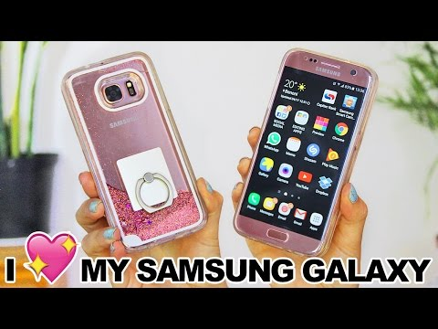 10 Reasons why I love my Rose Gold Samsung Galaxy S7 | Tech Review