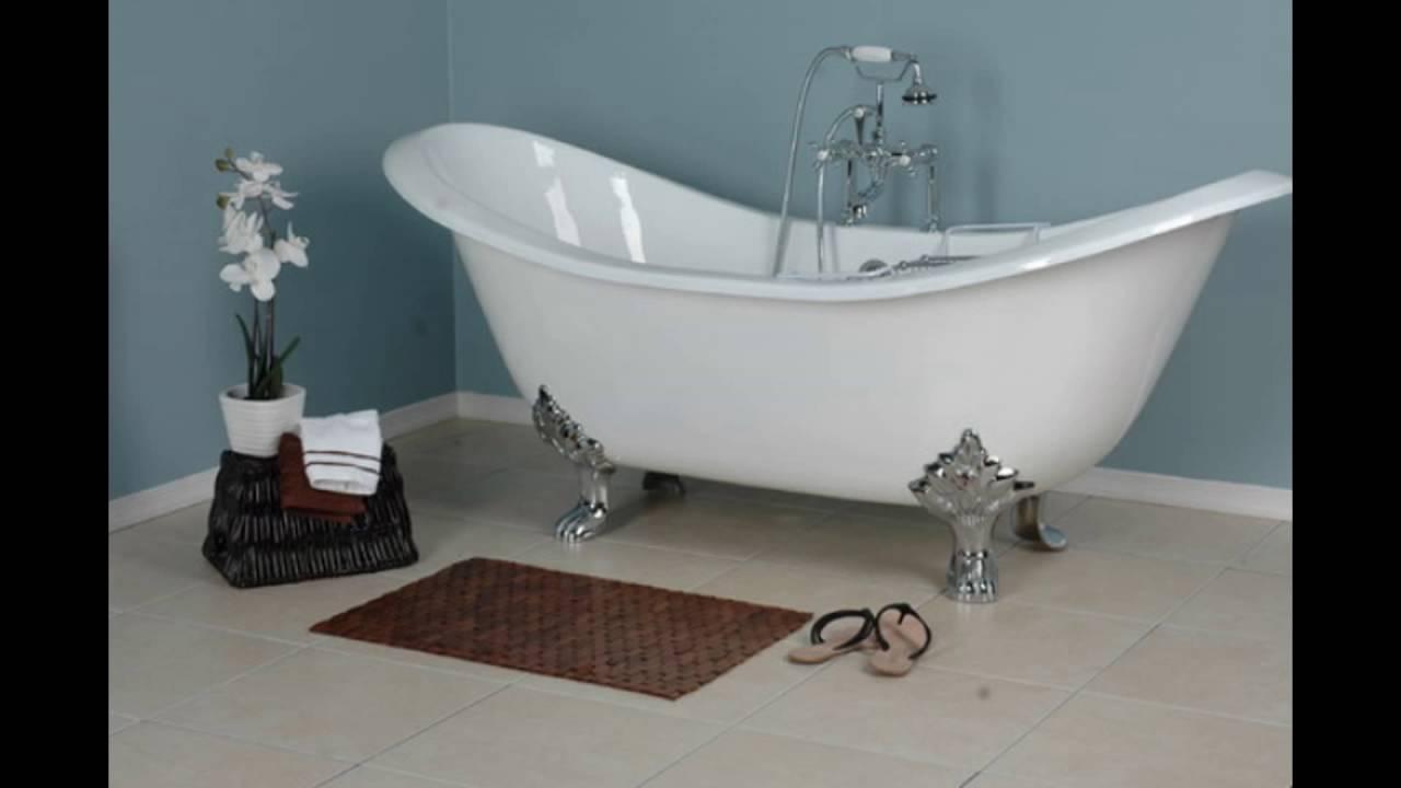 Claw-Foot Bathtub - YouTube