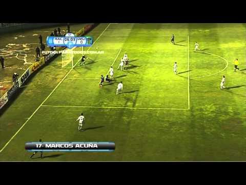 Gol de Acuña. Racing 1 San Martin 0. Copa Argentina. Fútbol Para Todos