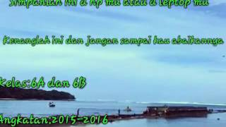 kenangan MIN 1 SERANG angkatan 2015 2016