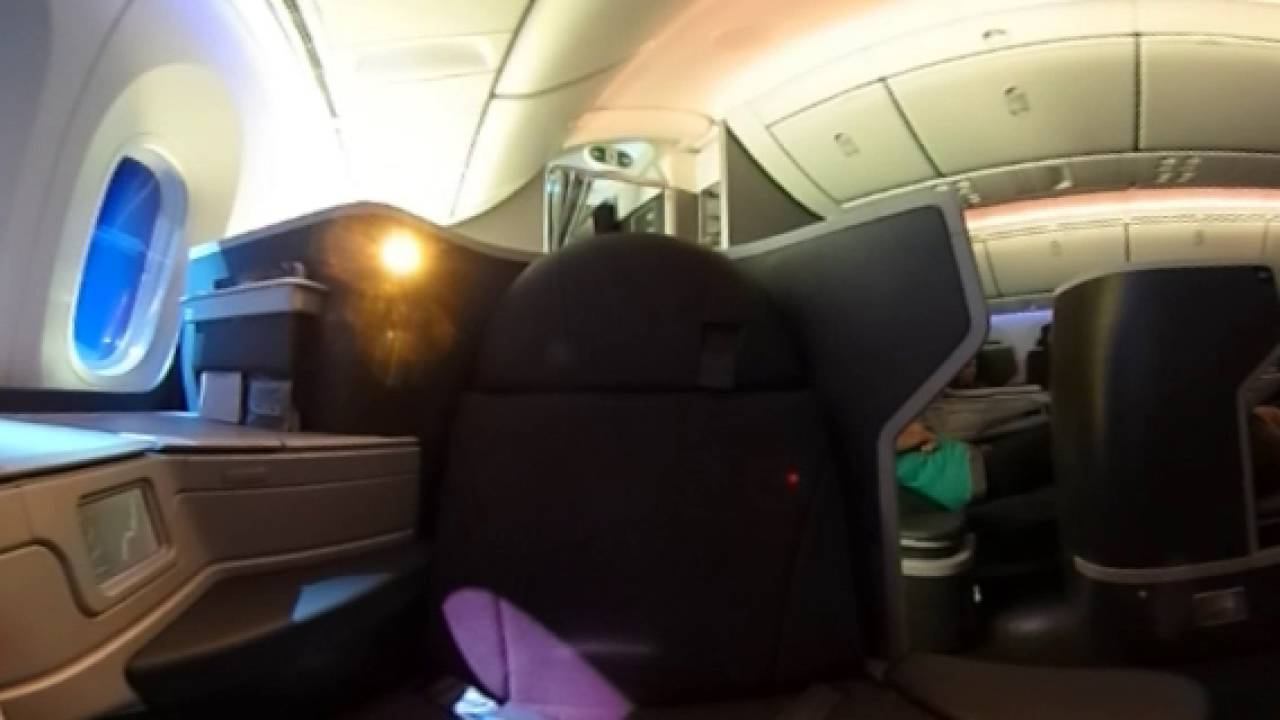 American Airlines 787 9 Business Class 360 176 Video Youtube