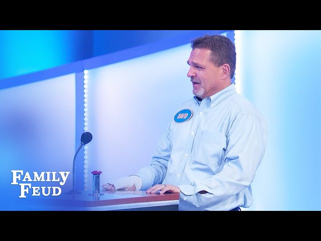 Steve Harvey can't believe this answer is not #1!   Family Feud