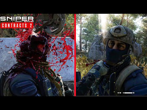 Sniper Ghost Warrior Contracts 2 - Stealth Kills - Hideout Clearing PC Gameplay |