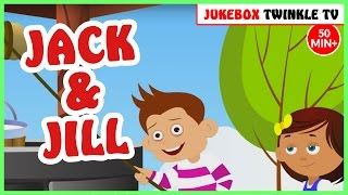 Jack And Jill Nursery Rhymes with Lyrics | Twinkle Tv