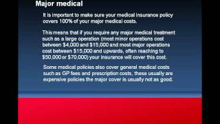 Major Medical Cover Health Insurance Explained