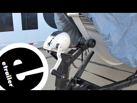 Fulton F2 Fully Enclosed Trailer Winch Review - etrailer.com