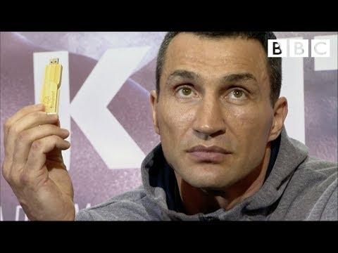 Wladimir Klitschko's intense boxing mind games - BBC