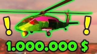 KUPIŁEM WOJSKOWY HELIKOPTER ZA 1.000.000$ | ROBLOX #admiros