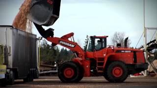 Video still for Doosan Wheel Loaders Deliver