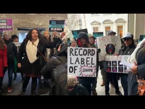 R. Kelly Protestors at RCA Headquarters to Demand They Drop Singer Mp3