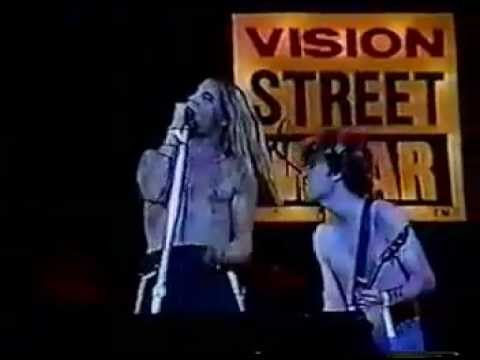 Red Hot Chili Peppers - Live Vision Skate Escape,Los Angeles, CA, USA