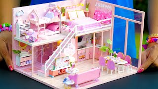 5 DIY Miniature Dollhouse Rooms for Girl