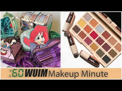 NEW Little Mermaid Brushes & Bags! + SophDoes Nails Collabs with Makeup Revolution! | Makeup Minute