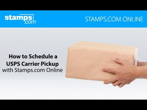 How To Schedule A USPS Carrier Pickup - Stamps.com Online
