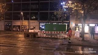 17.11.2018 - Vand fosser ud efter ulykke - Lyngby