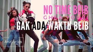 Gambar cover GAK ADA WAKTU BEIB LIRIK | LYRICS + ENGLISH SUBTITLE  | GHEA YOUBI