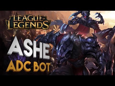 League of Legends - Ashe ADC BOT |LoL Gameplay|