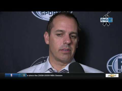 Frank Vogel -- Orlando Magic at San Antonio Spurs 11/29/2016