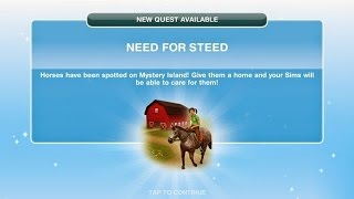 Sims Freeplay | Need For Steed Quest(, 2015-02-04T13:56:41.000Z)