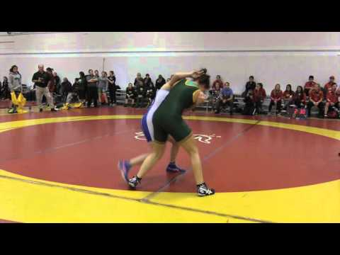 2015 Dino Invitational: 55 kg Teal Sinclair vs. Vanessa Brown