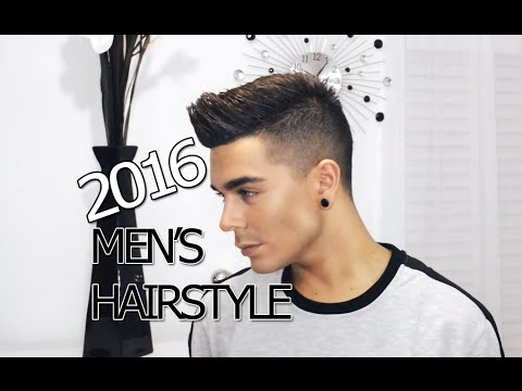2016 Mens Hairstyle Tutorial Modern Faux Hawk YouTube
