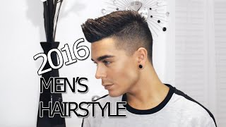 2016 Men's Hairstyle Tutorial  | Modern Faux Hawk