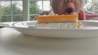 MUKBANG ТОРТ С ЧАЕМ MUKBANG CAKE TEA не ASMR мукбанг cake tea russiaasmr