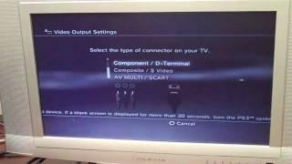 PS3 to VGA