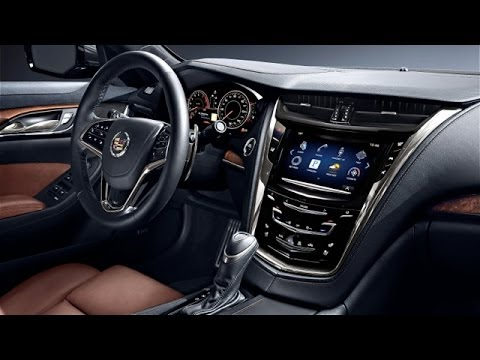 2014 Cadillac CTS Sedan Interior Review - YouTube