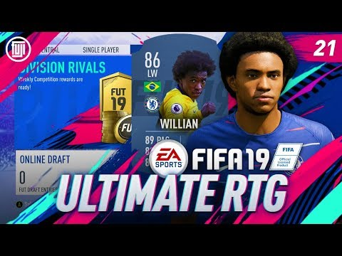 FUT RIVALS REWARDS!!! ULTIMATE RTG - #21 - FIFA 19 Ultimate Team
