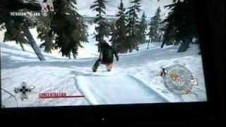 Shaun white snowboarding gameplay ps3