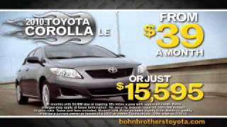 Bohn Brothers Toyota - Come & Get it