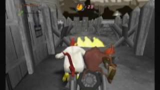Looney Tunes: Acme Arsenal (Wii) Crazy horrid level