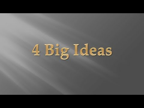 Four Big Ideas for Building a Better Business