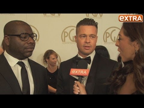 PGA Awards 2014: Brad Pitt Gushes over Lupita Nyong'o