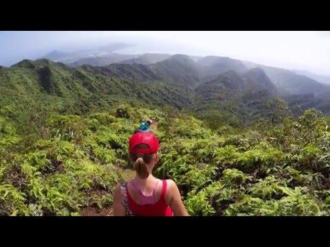 Hawaii Loa Ridge trail, hiking Oahu