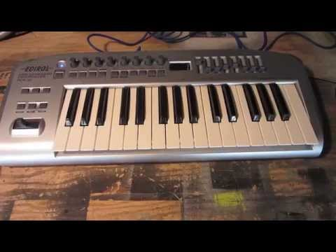 How to fix a MIDI keyboard with a pencil.