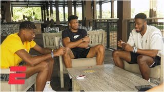 Bubble brothers: Getting to know the Antetokounmpo brothers through Uno | ESPN