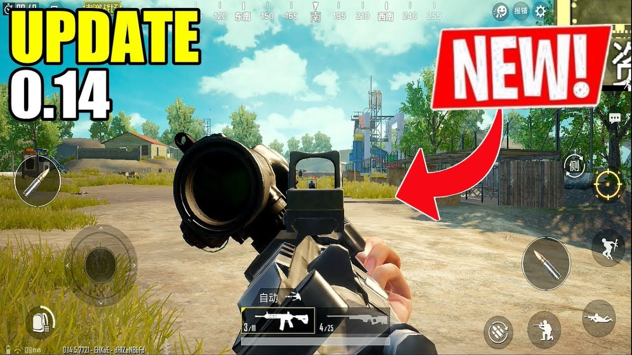 PUBG Mobile I UPDATE 0 14 IS OUT!! Lightspeed Chinese Version All Features  (Android) HD