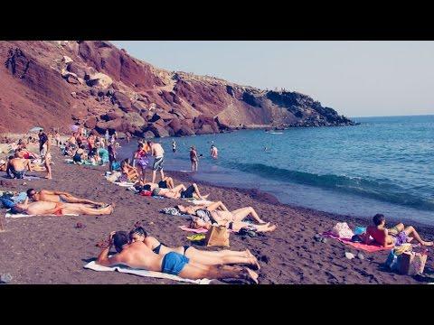 Santorini Beach Guide 25 Santorini Beaches Greece Youtube