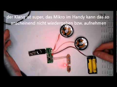 MP3 USB/SD-Modul Anleitung