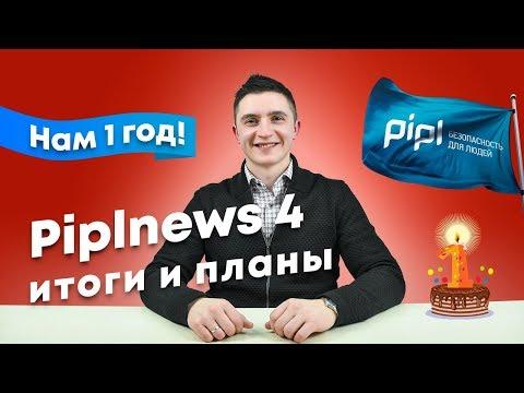 Piplnews 4: Нам 1 год! Итоги и планы