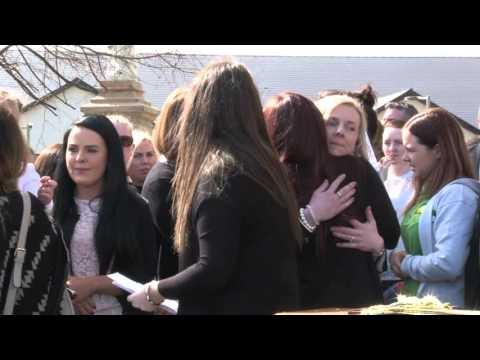 Hundreds attend funeral of murder victim Michael McGibbon