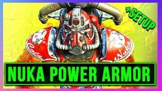 Fallout 4 Nuka World POWER ARMOR Location Guide DLC (BEST EFFECT + BUILD (All Secret Hidden Unique)