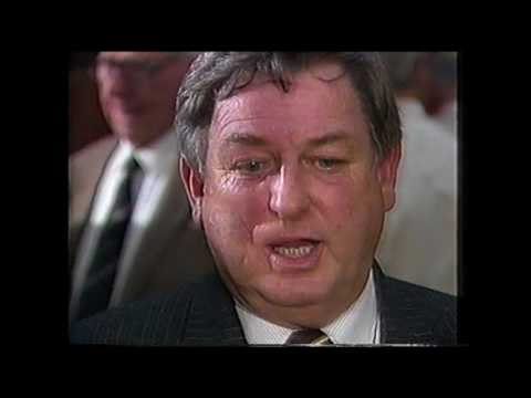 1987 Grand Final post match interview with Hawthorn president Ron Cook